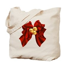 christmas bow Tote Bag