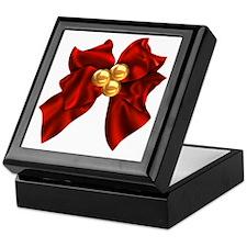 christmas bow Keepsake Box