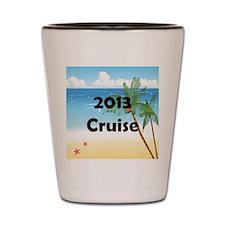 Palm Tree Cruise 2013 Shot Glass