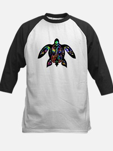 hawaiian honu turtle print Baseball Jersey