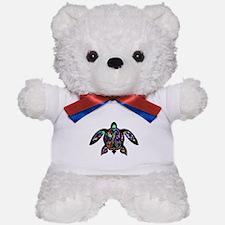 hawaiian honu turtle print Teddy Bear