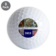 2013 Lacy Dog Wall Calendar Golf Ball