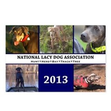 2013 Lacy Dog Wall Calend Postcards (Package of 8)