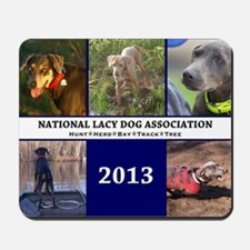 2013 Lacy Dog Wall Calendar Mousepad