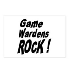 Game Wardens Rock ! Postcards (Package of 8)