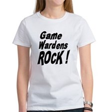 Game Wardens Rock ! Tee