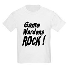 Game Wardens Rock ! Kids T-Shirt