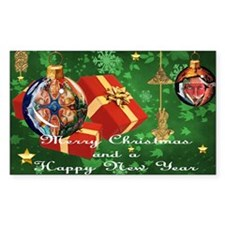NEW TAINO CHRISTMAS CARD 3 Decal