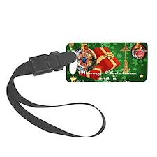 NEW TAINO CHRISTMAS CARD 3 Luggage Tag