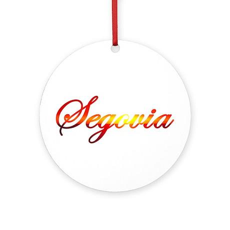 Segovia, Spain Ornament (Round)