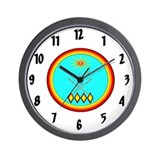 Choctaw nation Wall Clocks