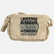 Survived Hurricane Sandy New Jersey Messenger Bag
