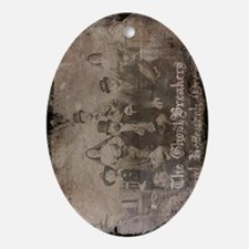 GhostBreakers Group photo Oval Ornament