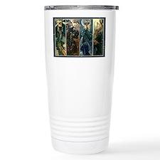 Alphonse Muchas Star, N Travel Mug