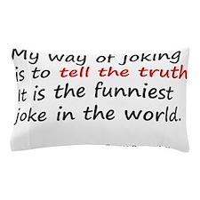 George Bernard Shaw Pillow Case