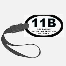 11B Operation Enduring Freedom Luggage Tag