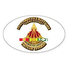 Army - 191st Ordnance Bn w SVC Ribbon Decal