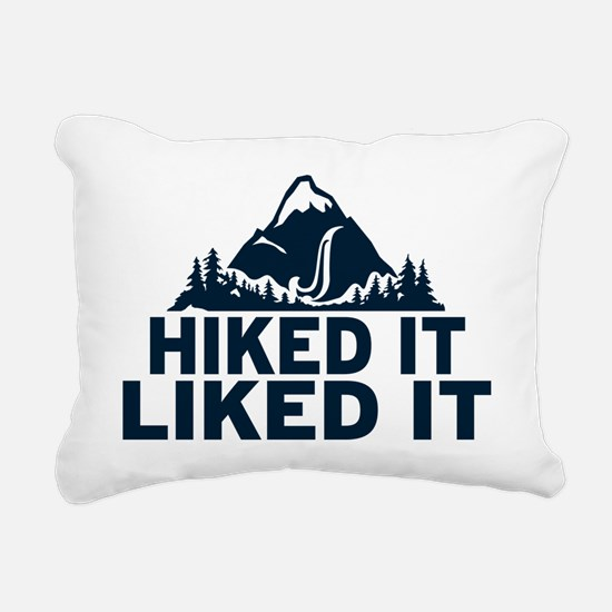Hiked It Liked It Rectangular Canvas Pillow