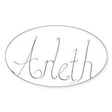 Arleth name Decal