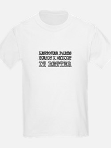 Leftover Parts Kids T-Shirt