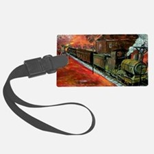 Whistle Stop Train Luggage Tag