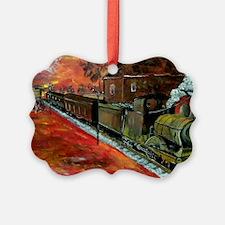 Whistle Stop Train Ornament
