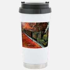 Whistle Stop Train Stainless Steel Travel Mug