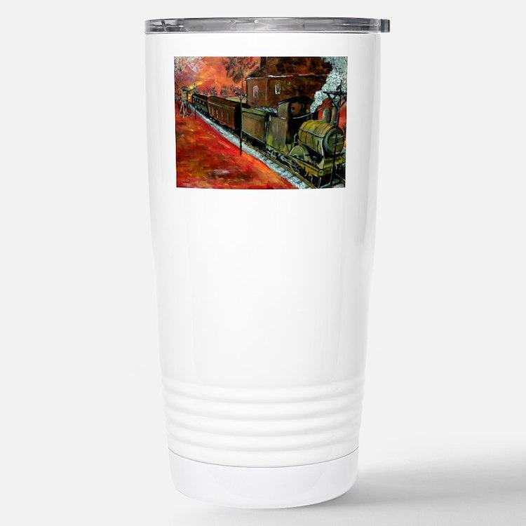Whistle Stop Train Travel Mug