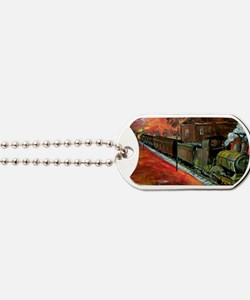 Whistle Stop Train Dog Tags