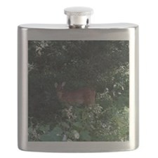 Friendly Deer near Ft Ancient Flask