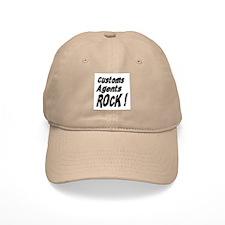 Customs Agents Rock ! Baseball Cap