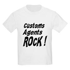 Customs Agents Rock ! Kids T-Shirt