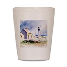 Scituate Light Roses Square Shot Glass