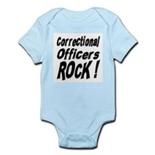 Correctional Officers Rock ! Onesie
