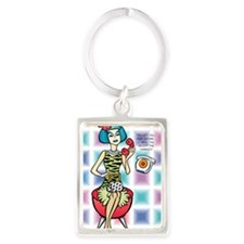 Alter Ego Pop Journal SATURN CAL Portrait Keychain