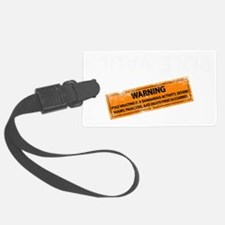 The new pole vault white Luggage Tag