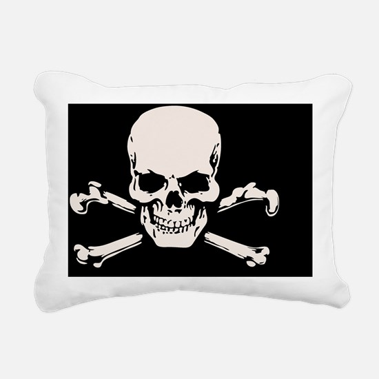 sk708-1012-OV Rectangular Canvas Pillow