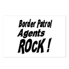 Border Patrol Agents Rock ! Postcards (Package of