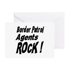 Border Patrol Agents Rock ! Greeting Cards (Packag
