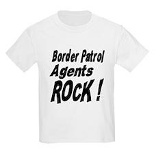 Border Patrol Agents Rock ! Kids T-Shirt