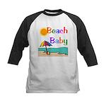 Beach Baby Kids Baseball Jersey