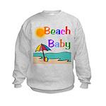Beach Baby Kids Sweatshirt