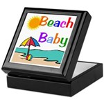 Beach Baby Keepsake Box