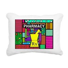 pharmacy tech tote 3 Rectangular Canvas Pillow