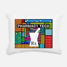 pharmacy tech tote 2 Rectangular Canvas Pillow