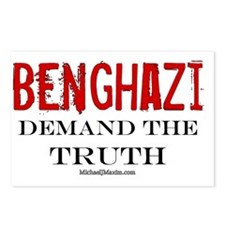 Benghazi Truth Postcards (Package of 8)