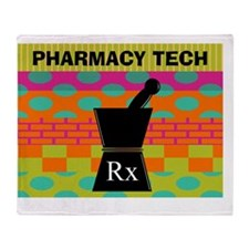 pharmacy tech tote 1 Throw Blanket