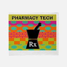 pharmacy tech tote 1 Throw Blanket