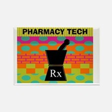 pharmacy tech tote 1 Rectangle Magnet