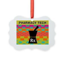 pharmacy tech tote 1 Ornament